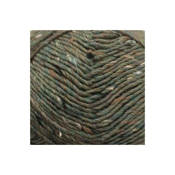 CaMaRose - Lama-tweed 6448 Påfugl