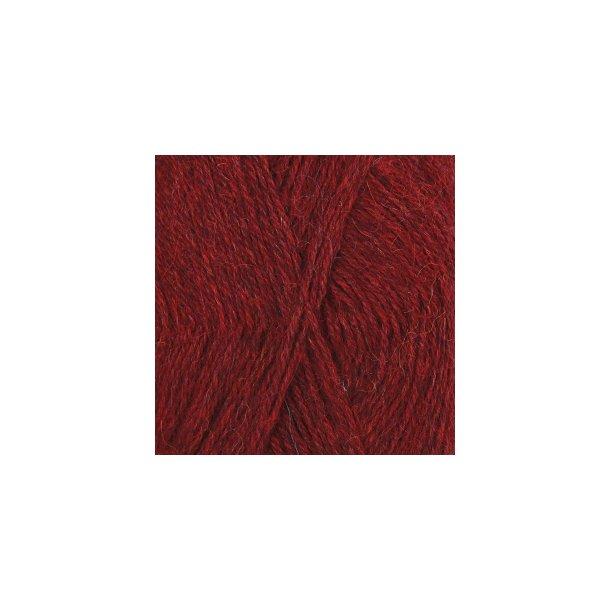Drops Alpaca 3650 Rød meleret