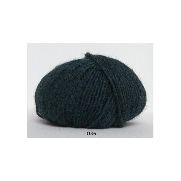 Hjertegarn - Incawool 1036 Mørk grøn