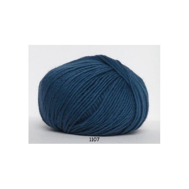 Hjertegarn - Incawool 1107 Petrol blå