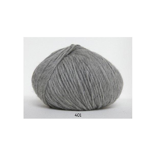 Hjertegarn - Incawool 401 Lys grå