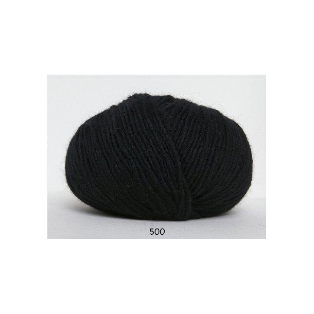 Hjertegarn - Incawool 500 Sort
