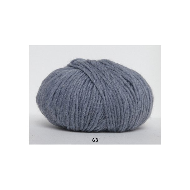 Hjertegarn - Incawool 63 Lys gråblå