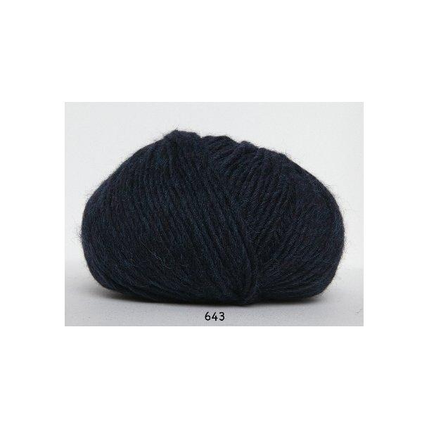 Hjertegarn - Incawool 643 Petrol/turkis
