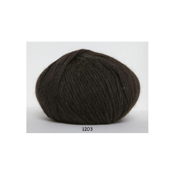 Hjertegarn - Incawool 1203 Brun