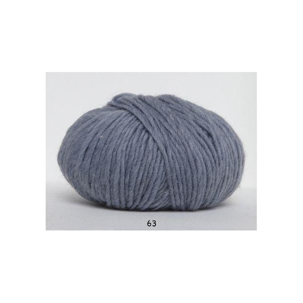 Hjertegarn - Incawool 0063 Lys gråblå