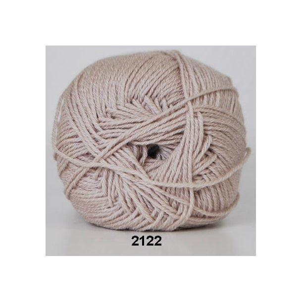 Hjertegarn - Lana Cotton 2122 Beige