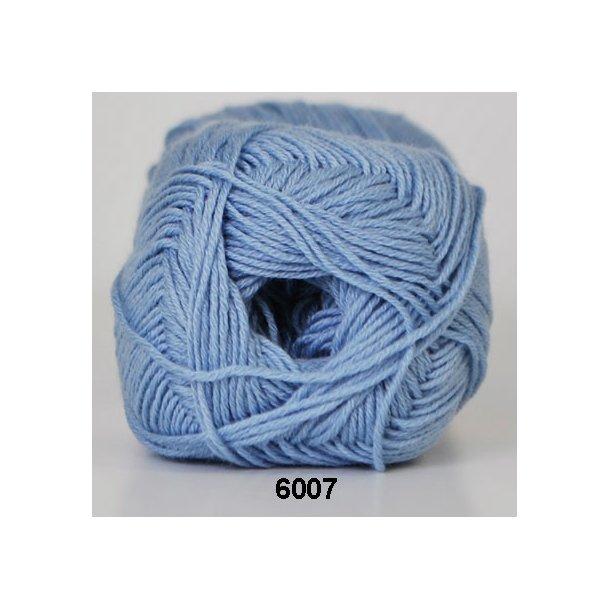 Hjertegarn - Lana Cotton 6007 Lys blå