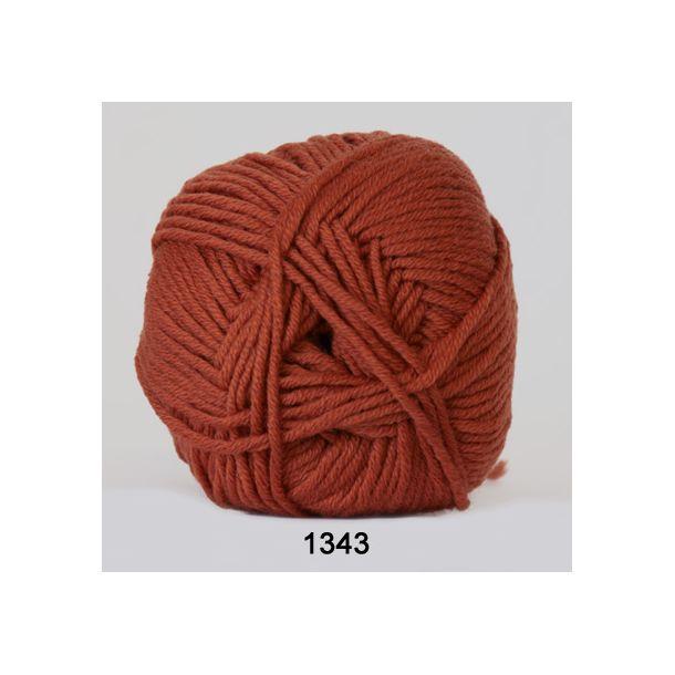 Hjertegarn - Merino Cotton 1343 Rust