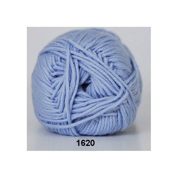 Hjertegarn - Merino Cotton 1620 Lys blå