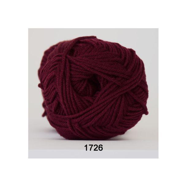 Hjertegarn - Merino Cotton 1726 Bordeaux