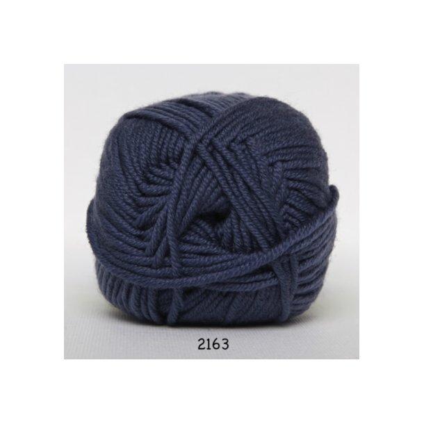 Hjertegarn - Merino Cotton 2163 Jeansblå