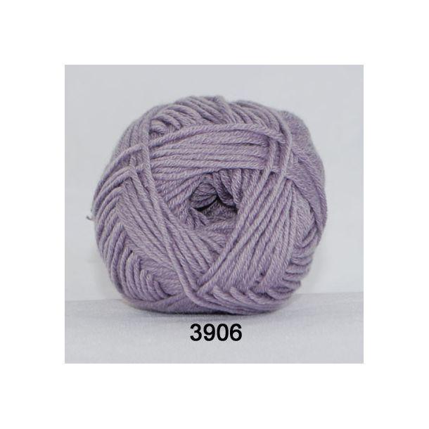 Hjertegarn - Merino Cotton 3906 Lyslilla