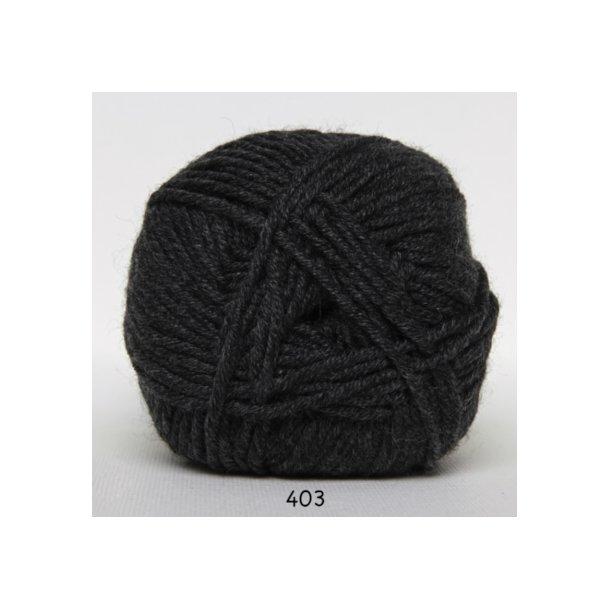 Hjertegarn - Merino Cotton 403 Koksgrå