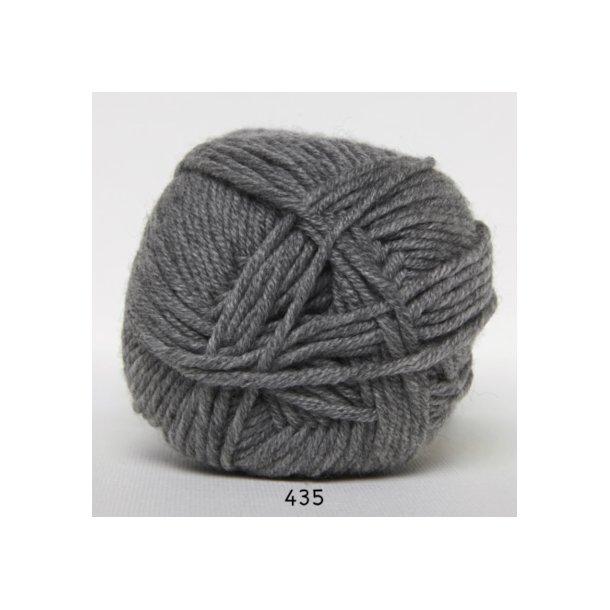 Hjertegarn - Merino Cotton 435 Grå