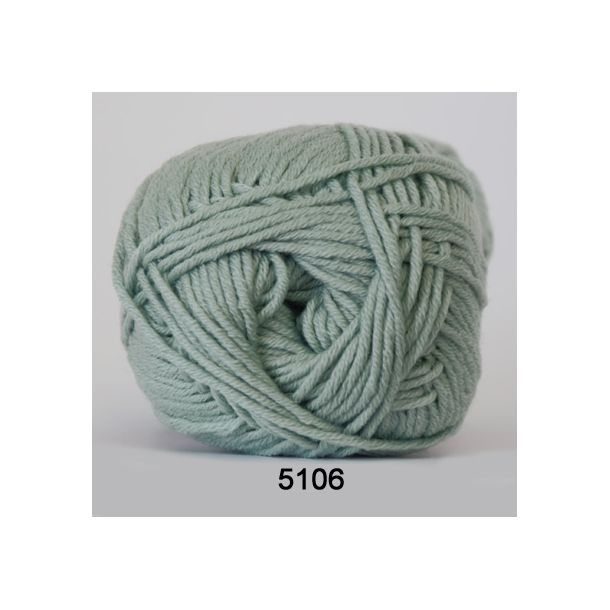 Hjertegarn - Merino Cotton 5106 Søgrøn