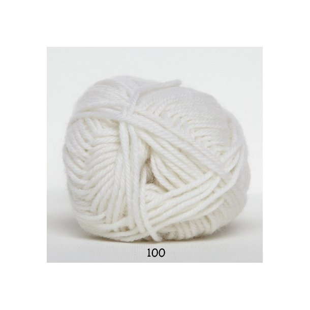 Hjertegarn - Vital Superwash 100 Hvid