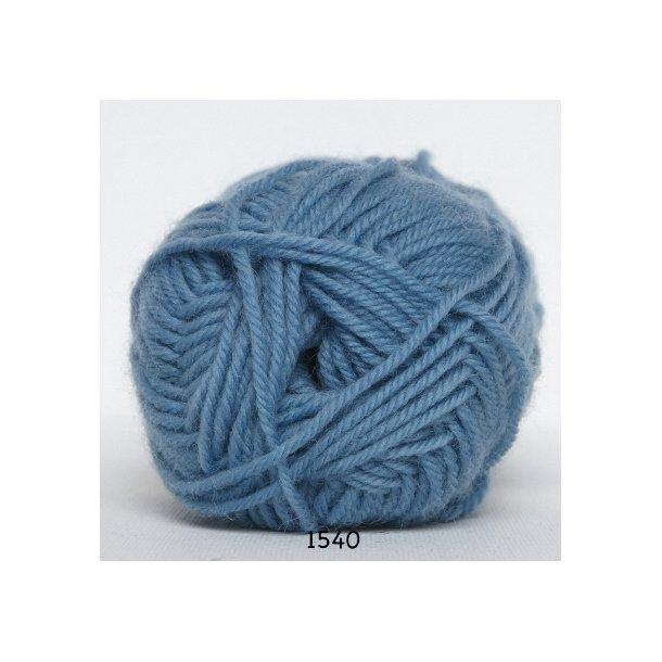 Hjertegarn - Vital Superwash 1540 Lys petrol blå