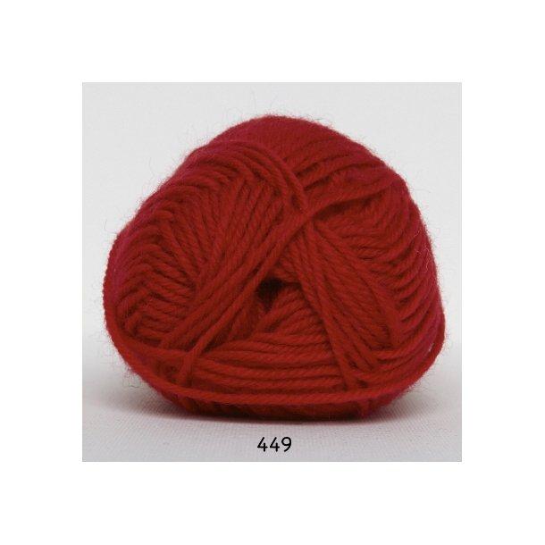Hjertegarn - Vital Superwash 449 Rød