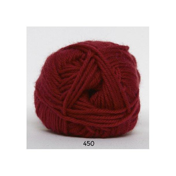 Hjertegarn - Vital Superwash 450 Mørk rød