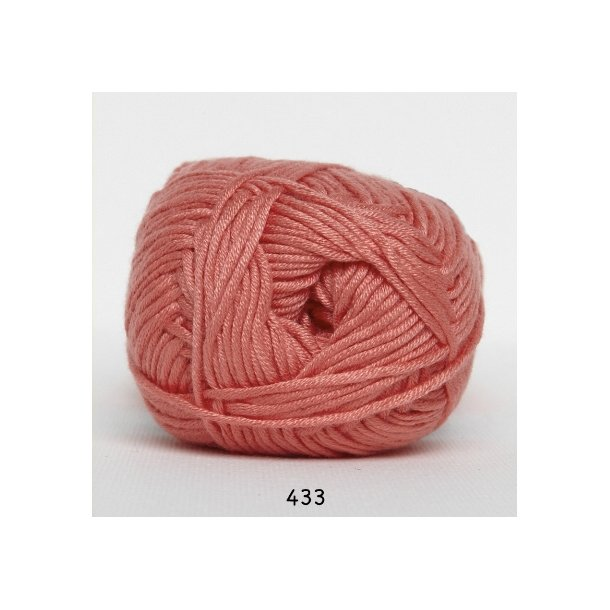 Hjertegarn - Blend bamboo 433 Koral