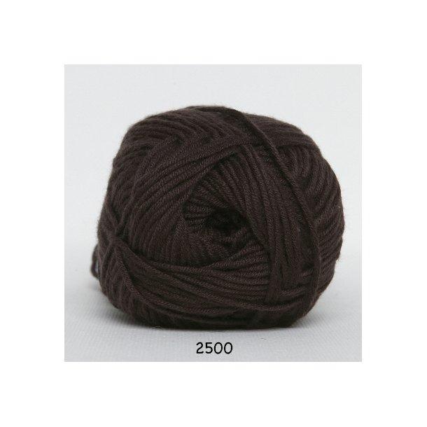 Hjertegarn - Blend bamboo 2500 Brun