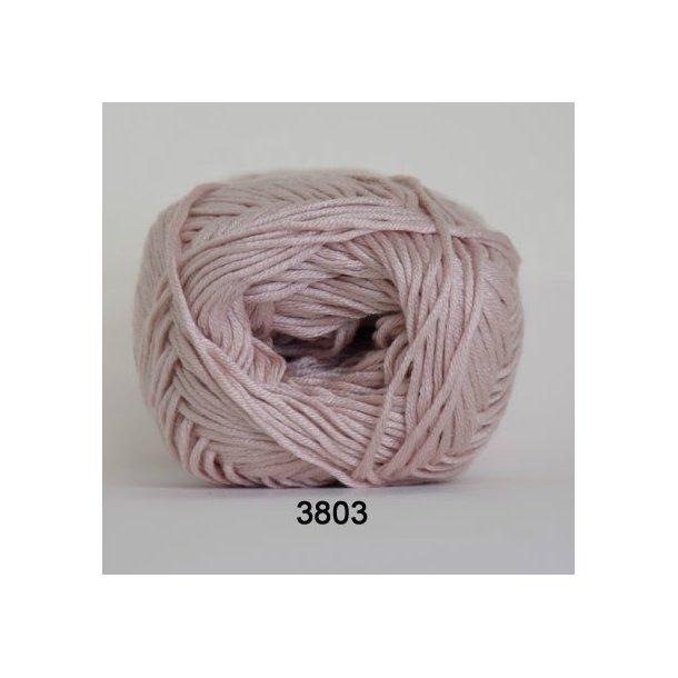 Hjertegarn - Blend bamboo 3803 Lys gammelrosa