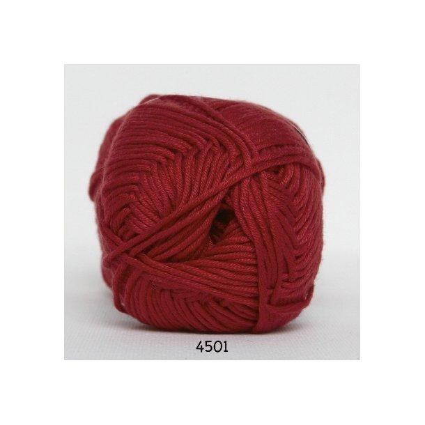Hjertegarn - Blend bamboo 4501 Rød