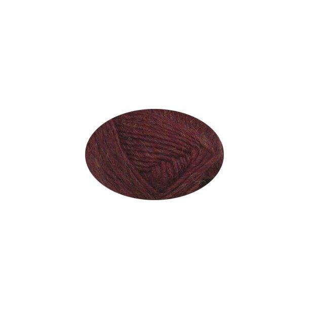 Alafoss Lopi fra Istex 9962 Rubinrød / Ruby red heather