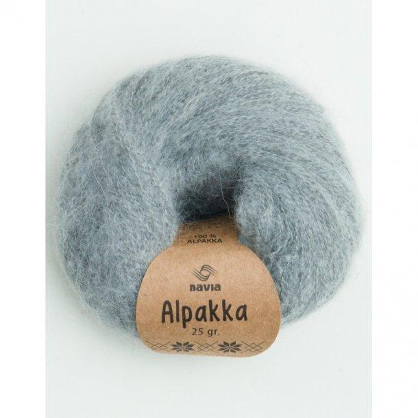 Navia - Alpakka 802 Lys grå