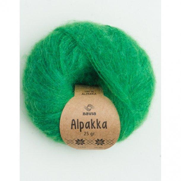 Navia - Alpakka 845 Frisk grøn