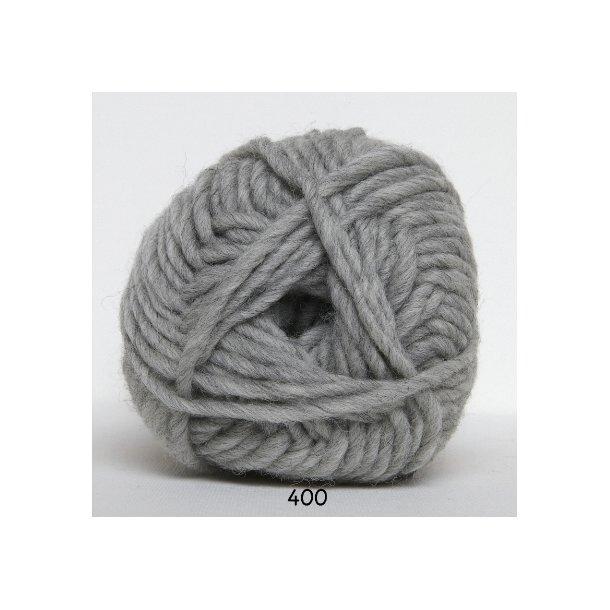 Hjertegarn - Naturuld 1400 Lys grå