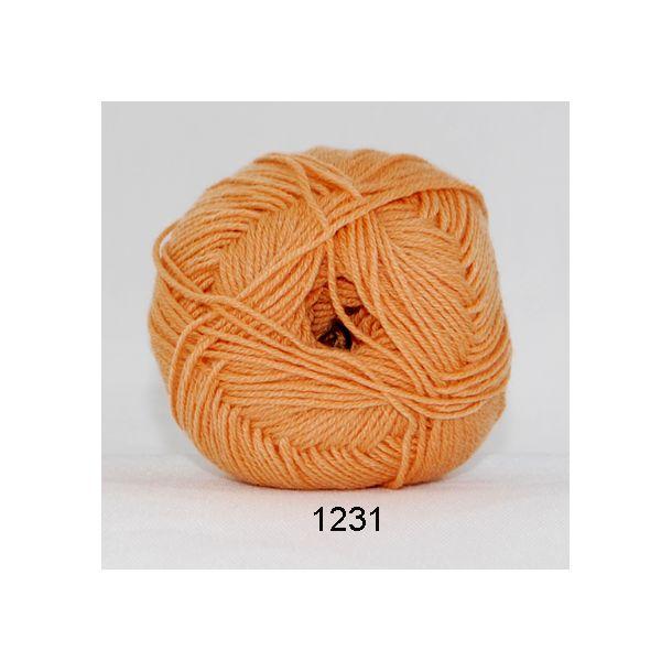 Hjertegarn - Lana Cotton 1231 Fersken