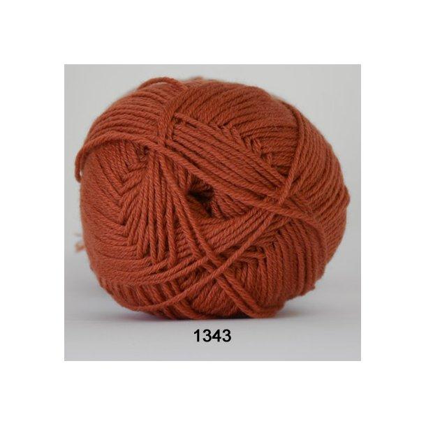 Hjertegarn - Lana Cotton 1343 Rust