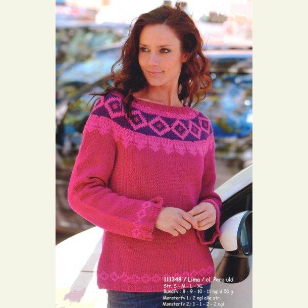 Sweater med bærestykke