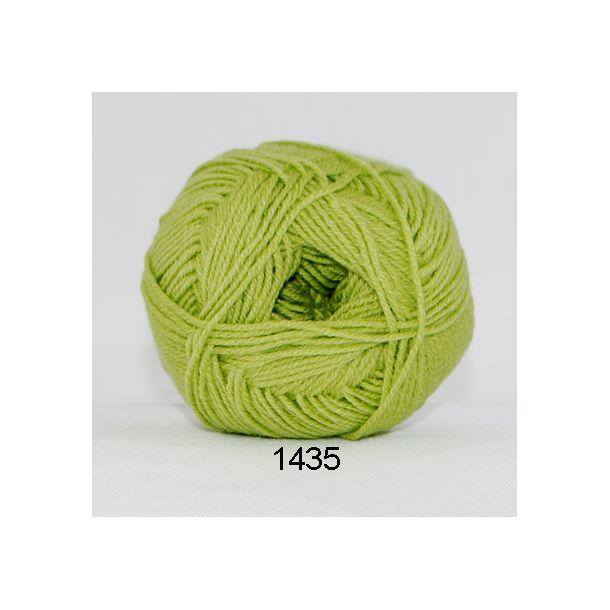 Hjertegarn - Lana Cotton 1435 Æblegrøn