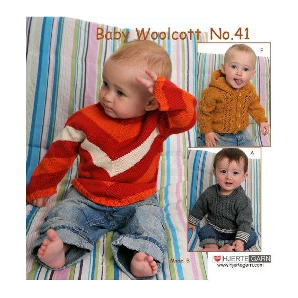 Baby Woolcott. Katalog No.41 fra Hjertegarn.