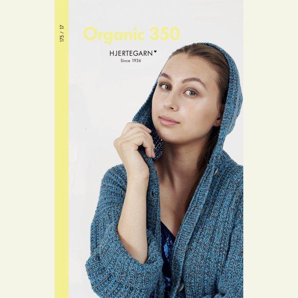 Organic 350. Katalog nr. 175 / 17 fra Hjertegarn.