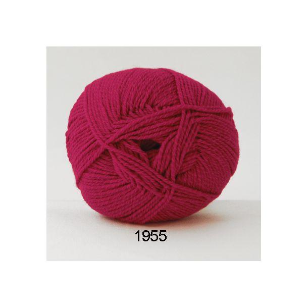 Hjertegarn - Lana Cotton 1955 Hot pink
