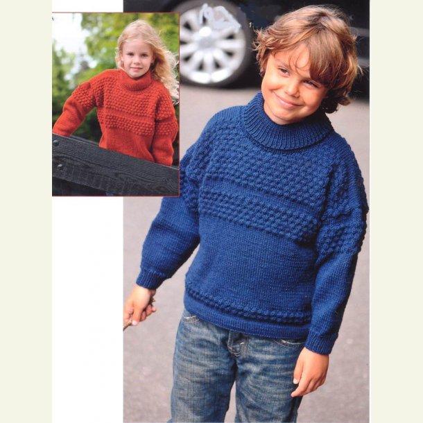 Sømandssweater til børn