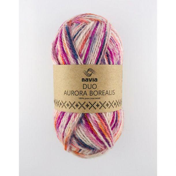 Navia - Duo 258 Aurora Borealis lilla-pink-orange