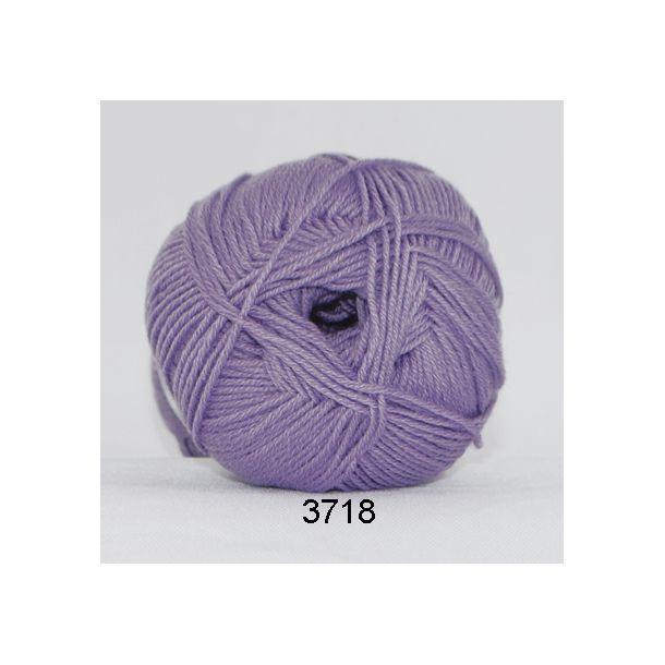 Hjertegarn - Lana Cotton 3718 Lavendel