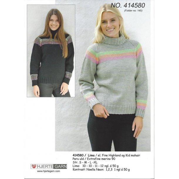 Sweater med mønster