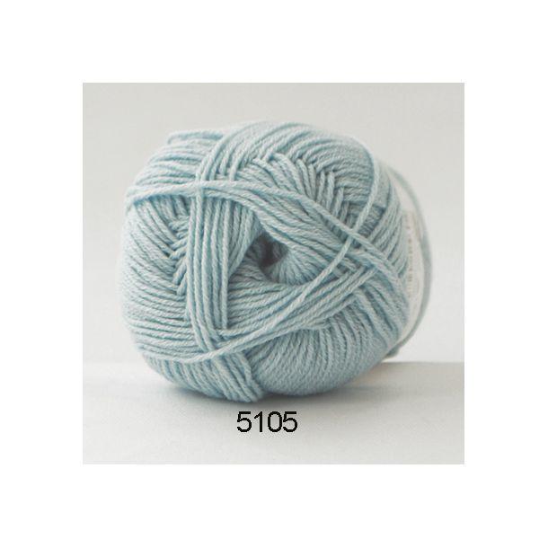 Hjertegarn - Lana Cotton 5105 Pastelblå