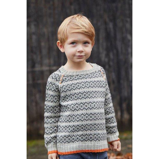 Strikkekit - Thors sweater fra CaMaRose. Str. 1-3 år.