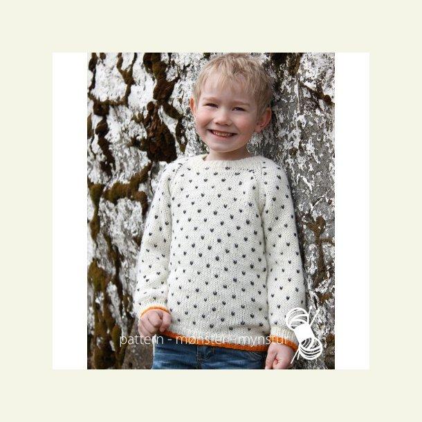Opskrift Navia - Sweater med lusemønster
