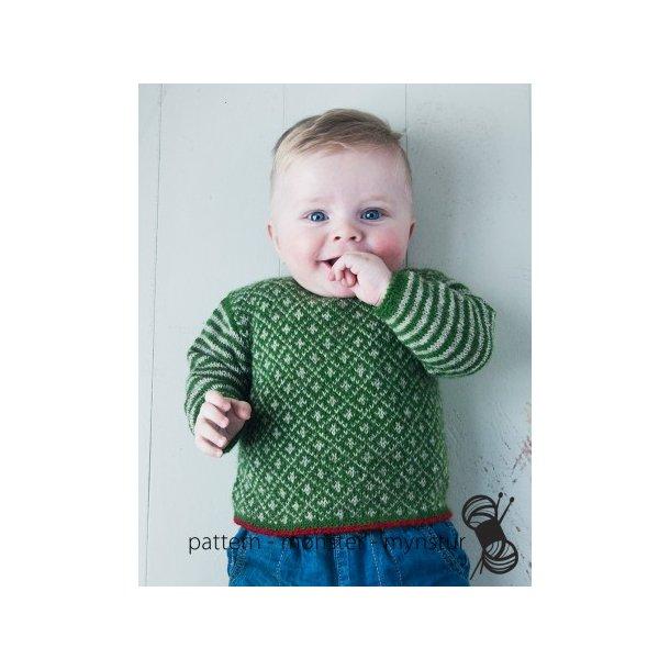 Opskrift Navia - Baby trøje