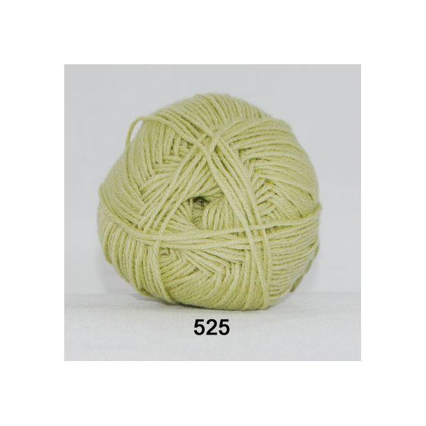 Hjertegarn - Lana Cotton 525 Lys æblegrøn