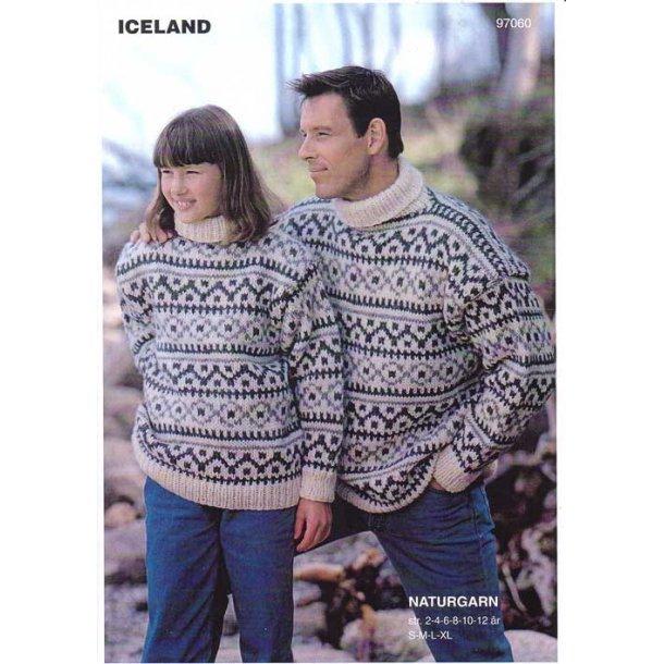 Strikkeopskrift - Islænder