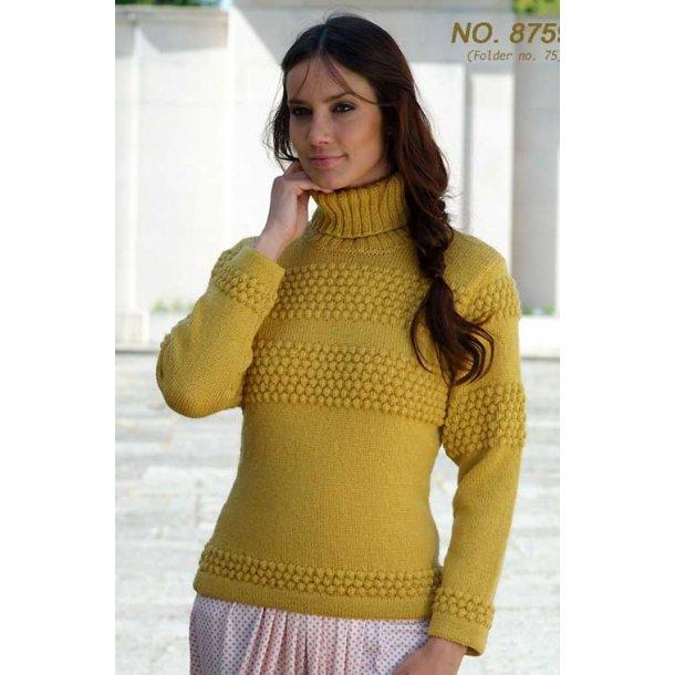 Strikkeopskrift - Klassisk sømandssweater